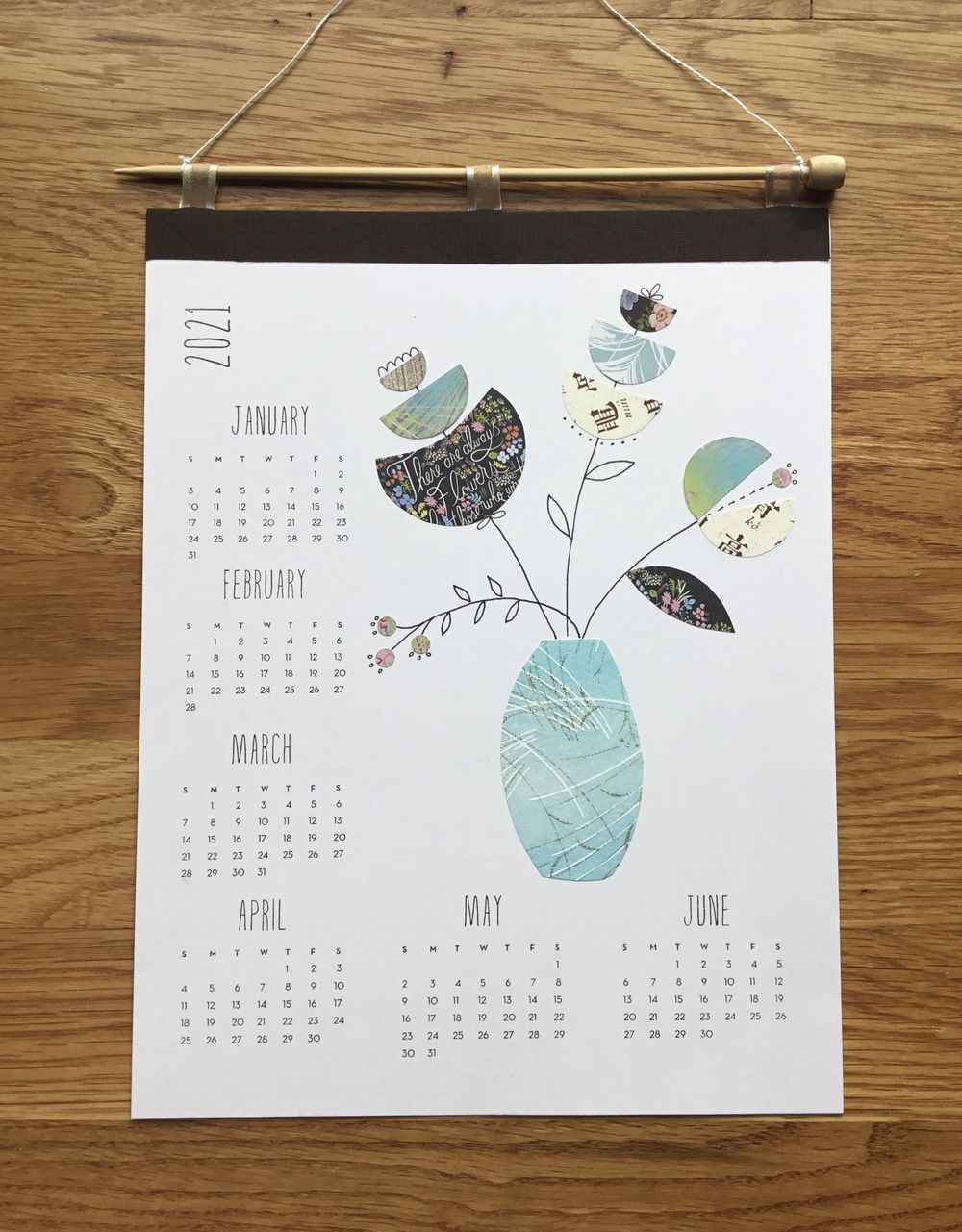Collage calendar - image 1 - student project
