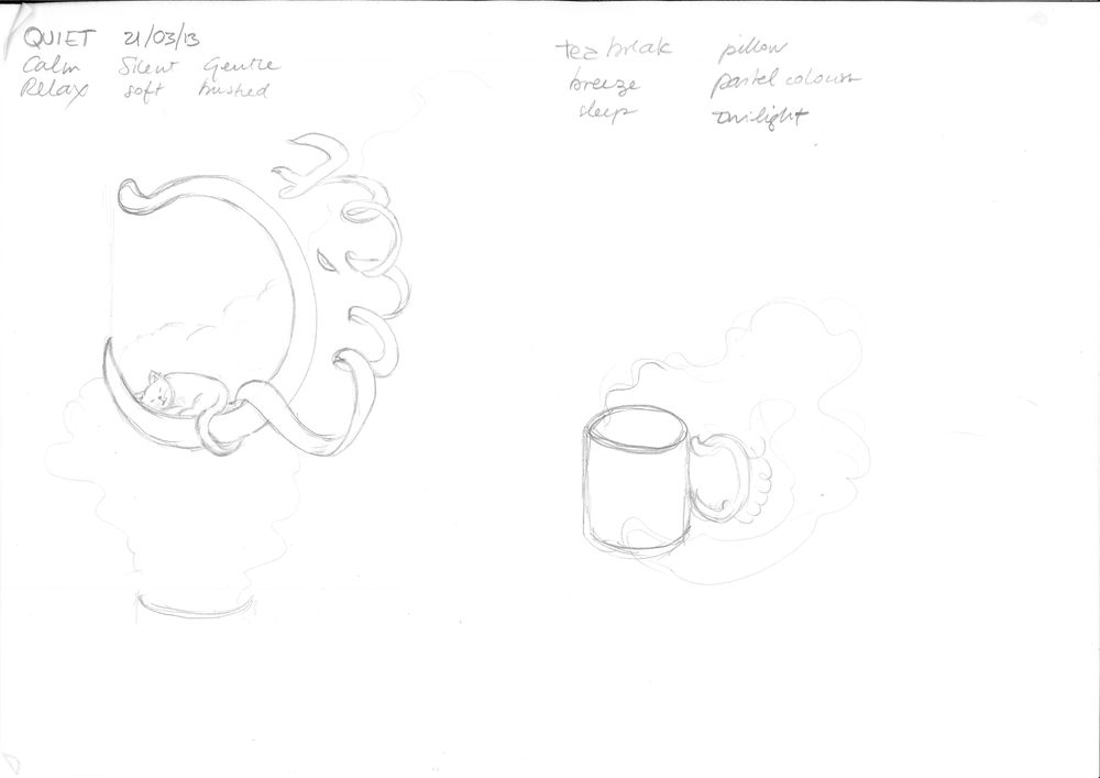 Quiet sketching - image 1 - student project