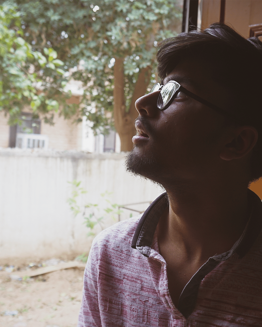 My Self Portraits more at IG: @sincerelyDhruv - image 1 - student project