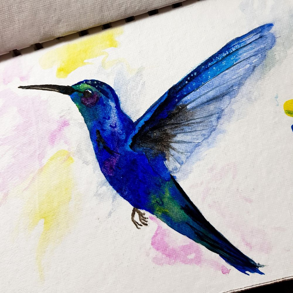 Humming Bird - image 1 - student project