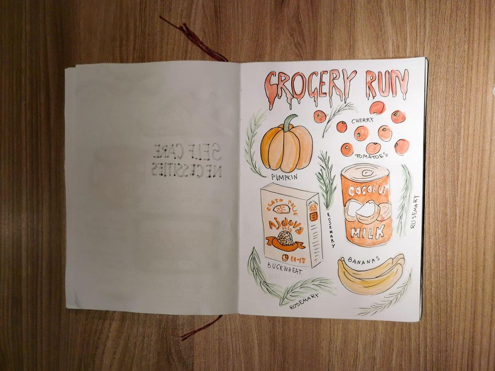 Illustrated Journaling - image 5 - student project
