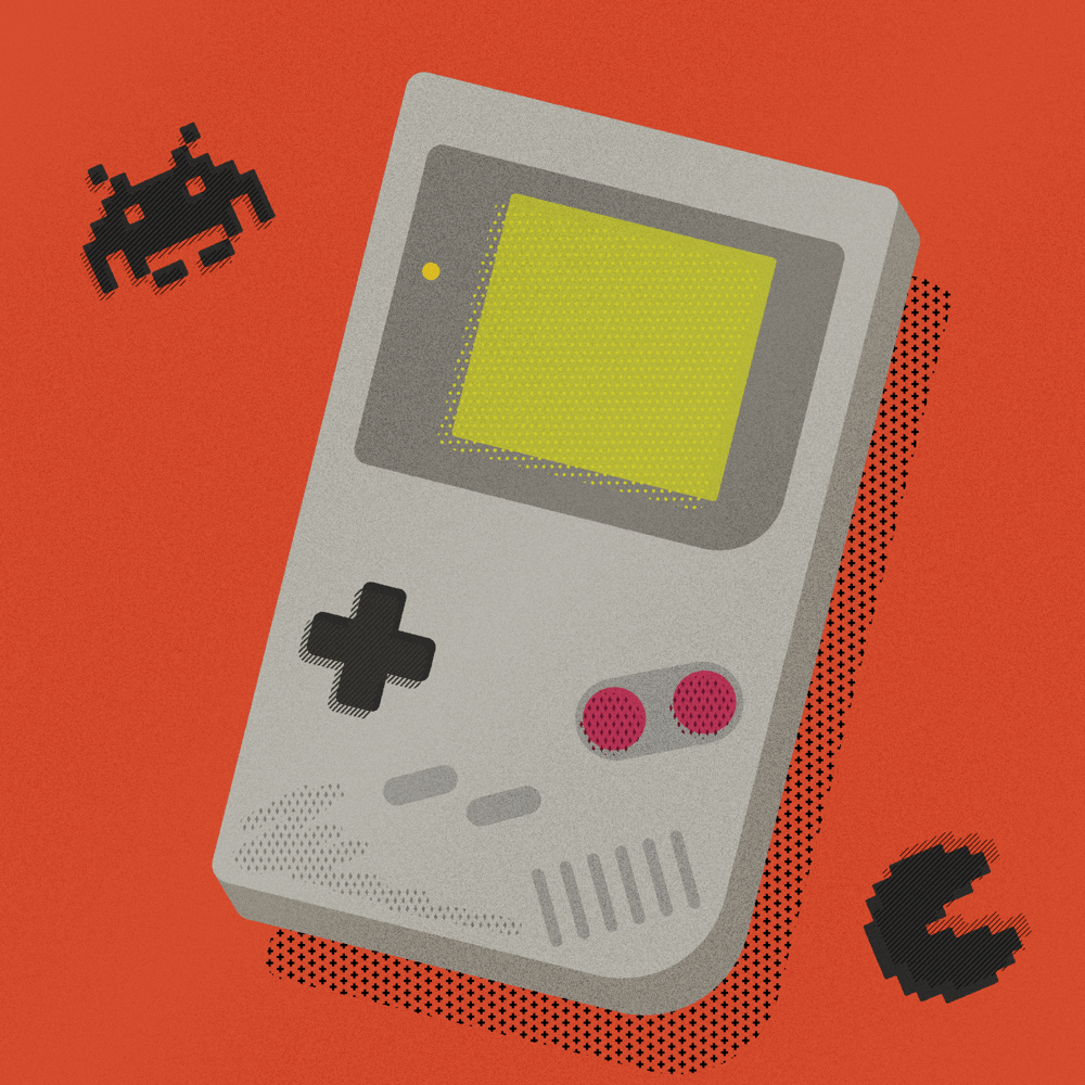 Childhood toy (Gameboy) - image 1 - student project