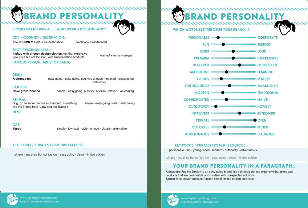 Alessandro Foglino, brand personality. - image 1 - student project