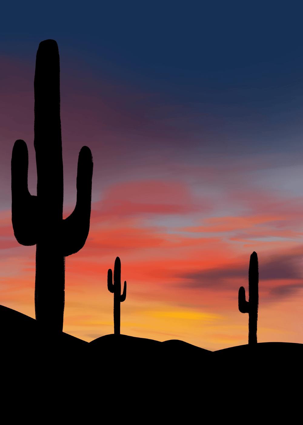 Desert Cactus - image 1 - student project