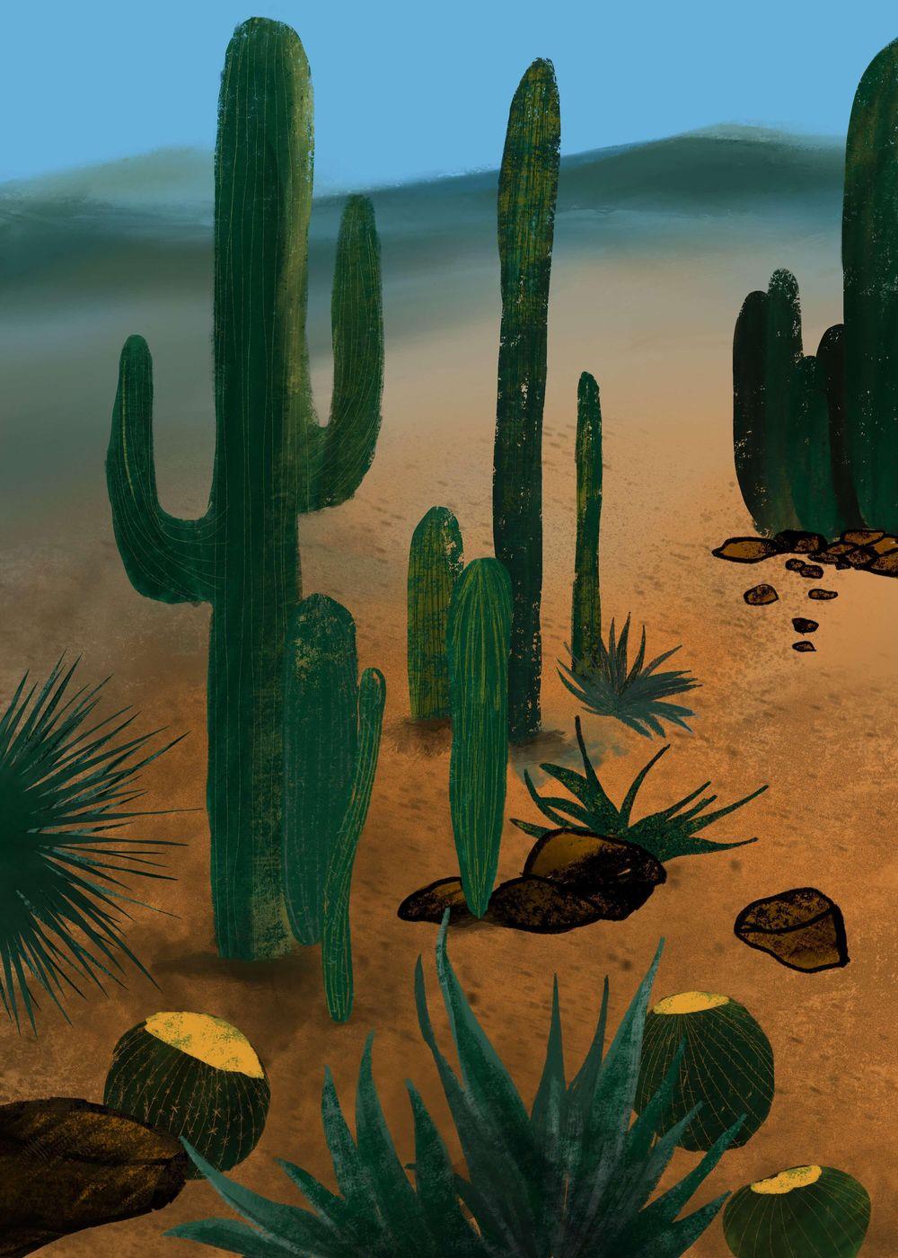 Desert Cactus - image 2 - student project