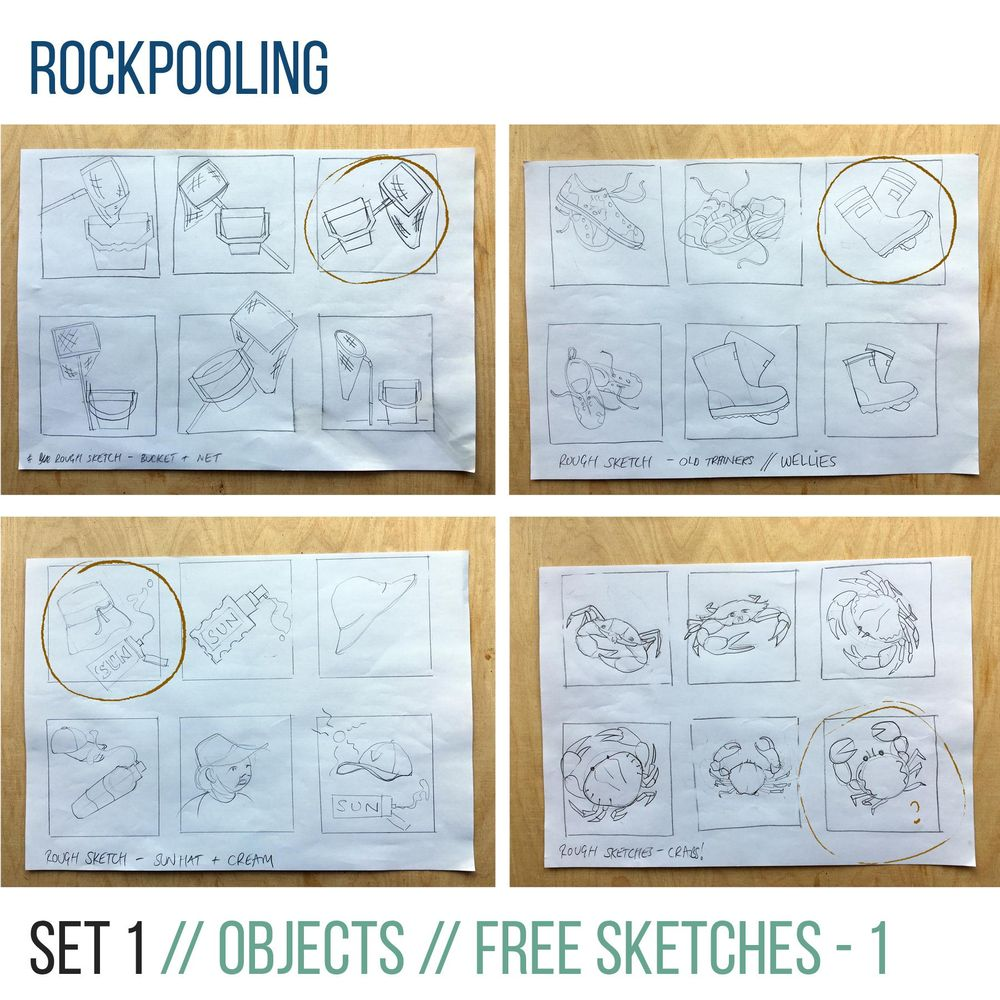 Rockpooling - image 1 - student project