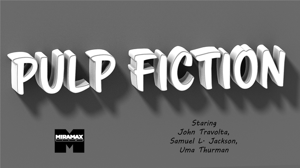 Pulp Fiction - image 2 - student project