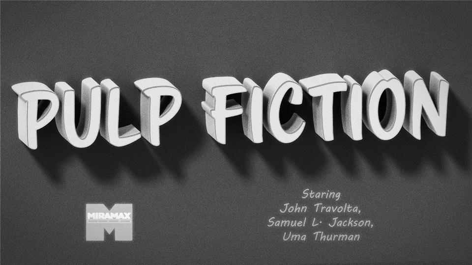 Pulp Fiction - image 3 - student project