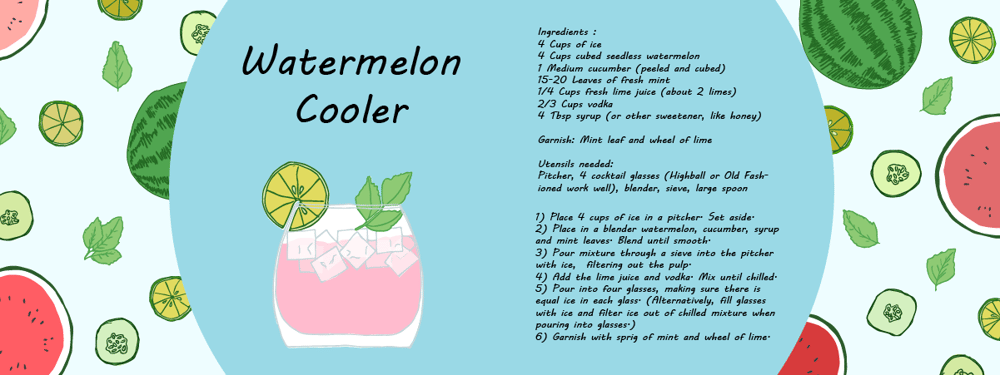 Watermelon Cooler - image 4 - student project