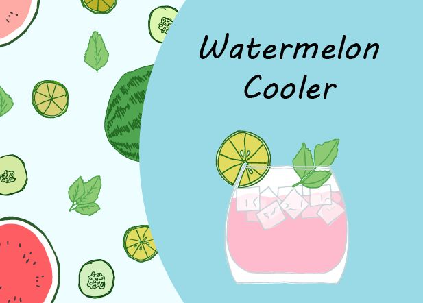 Watermelon Cooler - image 1 - student project