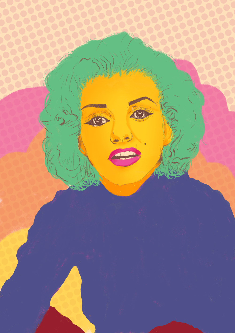 Marilyn Monroe - image 1 - student project