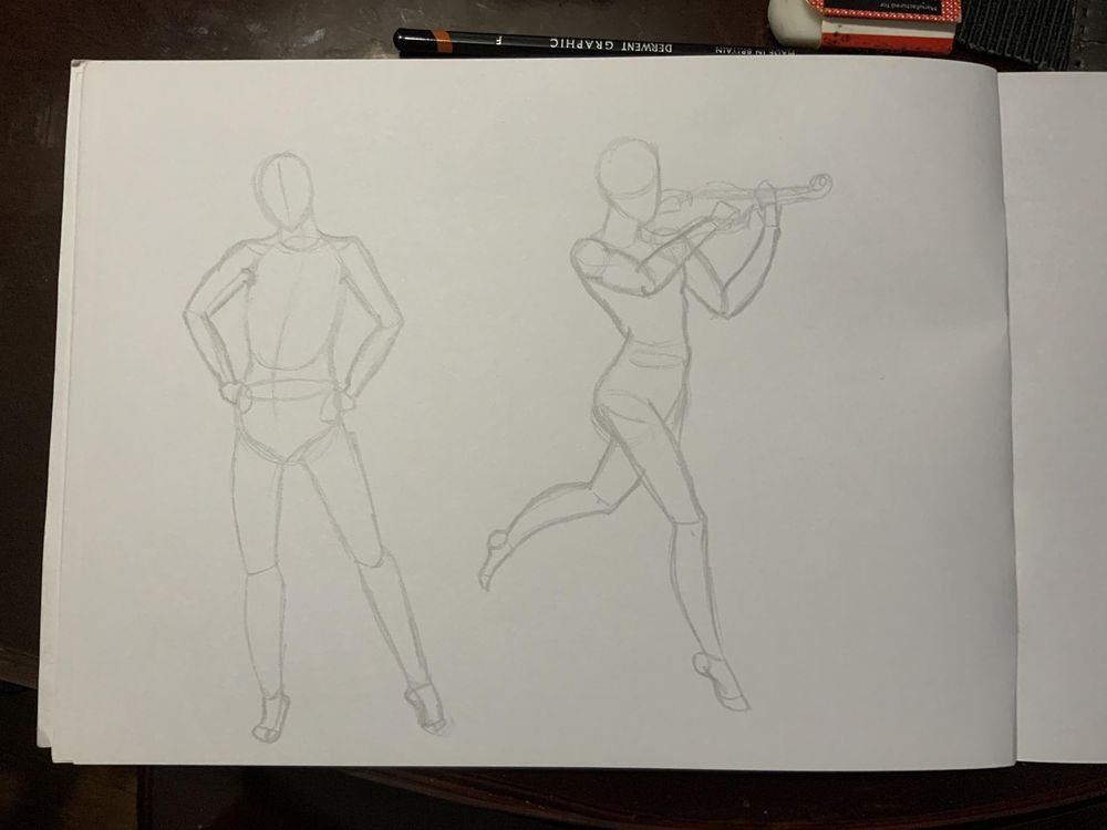 My figure drawing #3 - image 3 - student project