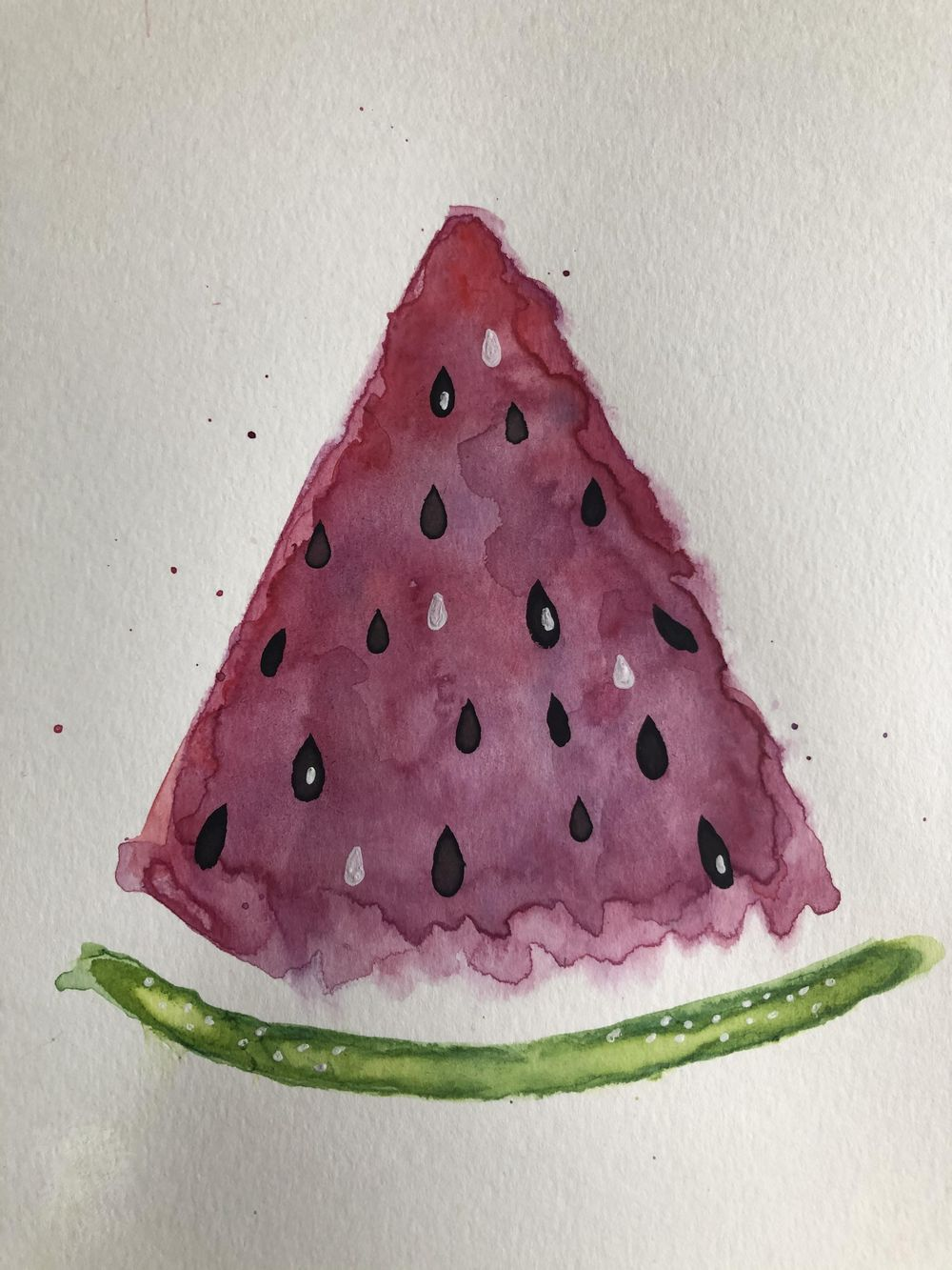 Watercolor sweets & treats - image 1 - student project