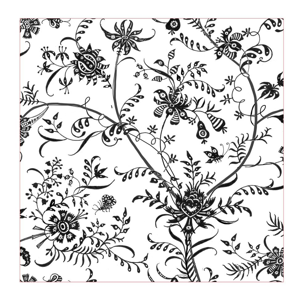 Fun with Indian Floral Patterns - image 5 - student project