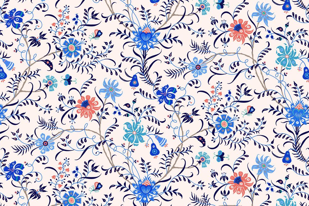 Fun with Indian Floral Patterns - image 16 - student project