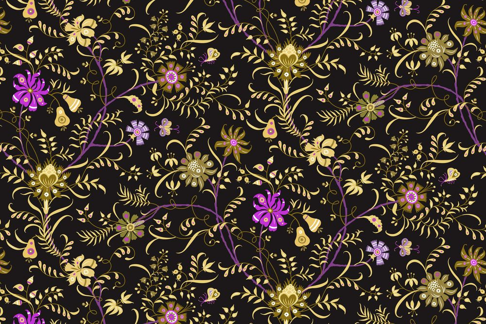 Fun with Indian Floral Patterns - image 11 - student project