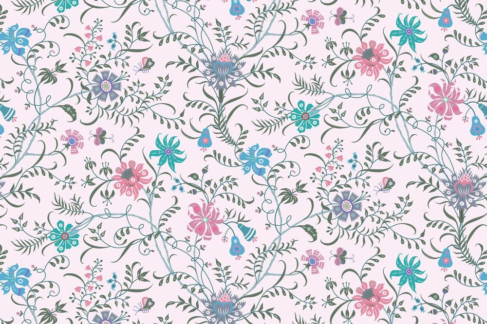 Fun with Indian Floral Patterns - image 18 - student project
