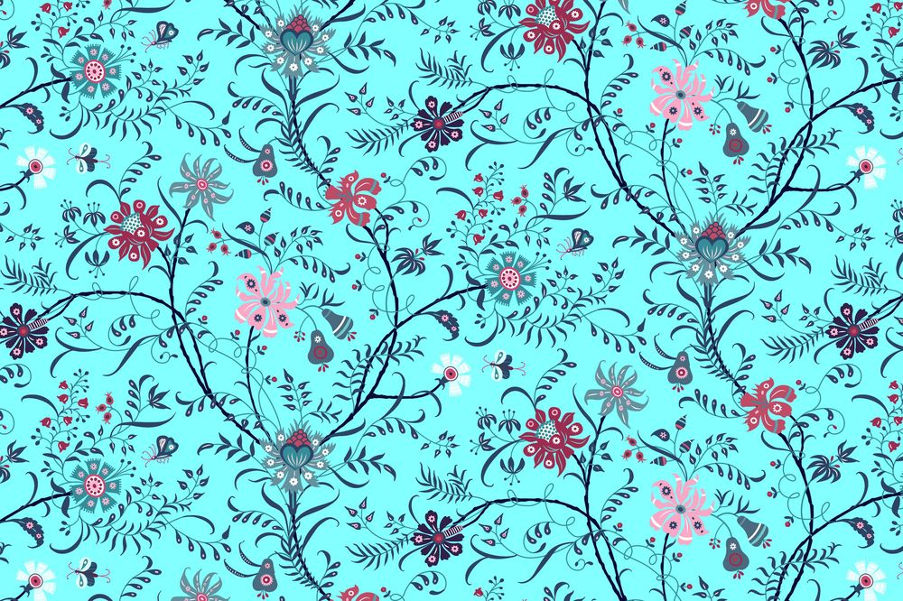 Fun with Indian Floral Patterns - image 10 - student project