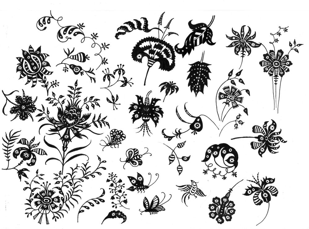 Fun with Indian Floral Patterns - image 4 - student project