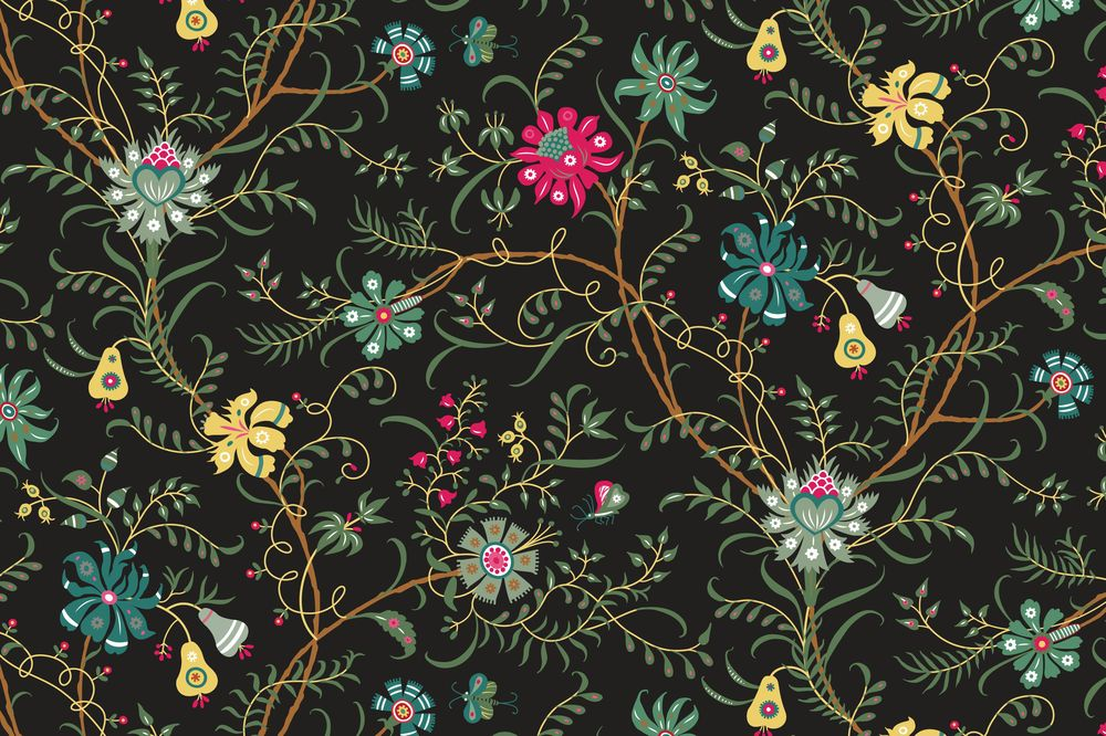 Fun with Indian Floral Patterns - image 13 - student project