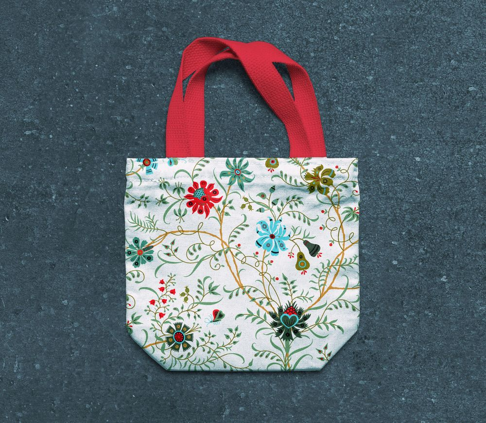 Fun with Indian Floral Patterns - image 2 - student project