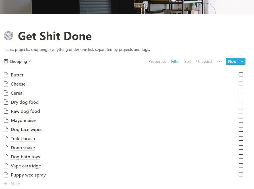 Getting Sh*t Done - image 2 - student project