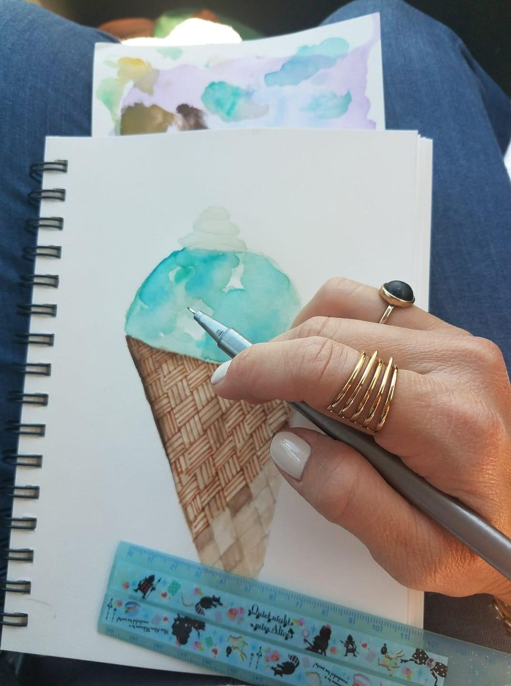 Stylizing with watercolor - image 6 - student project