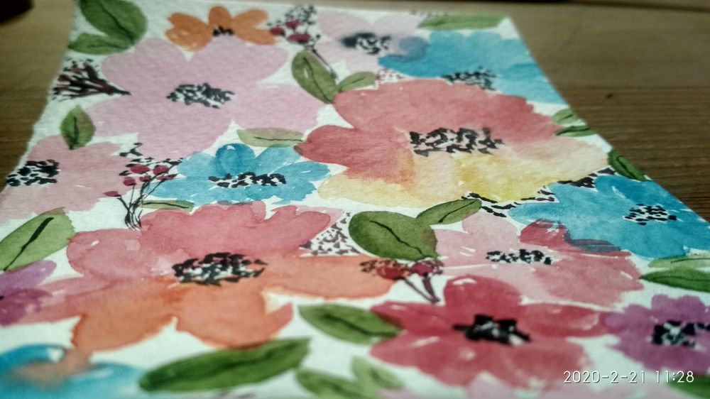 Floral Patterns - image 3 - student project