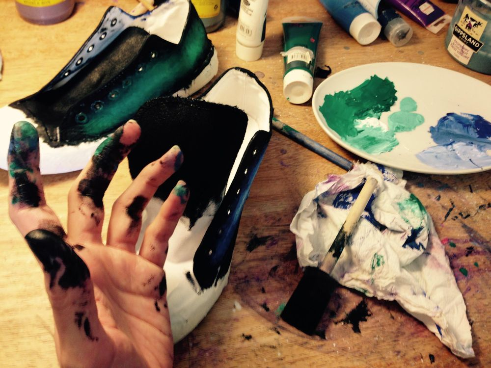Class Project: Galaxy Shoes! - image 4 - student project
