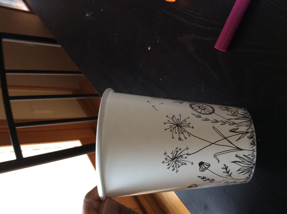 Paper cup - image 2 - student project