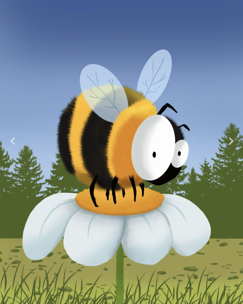 Bee - image 1 - student project