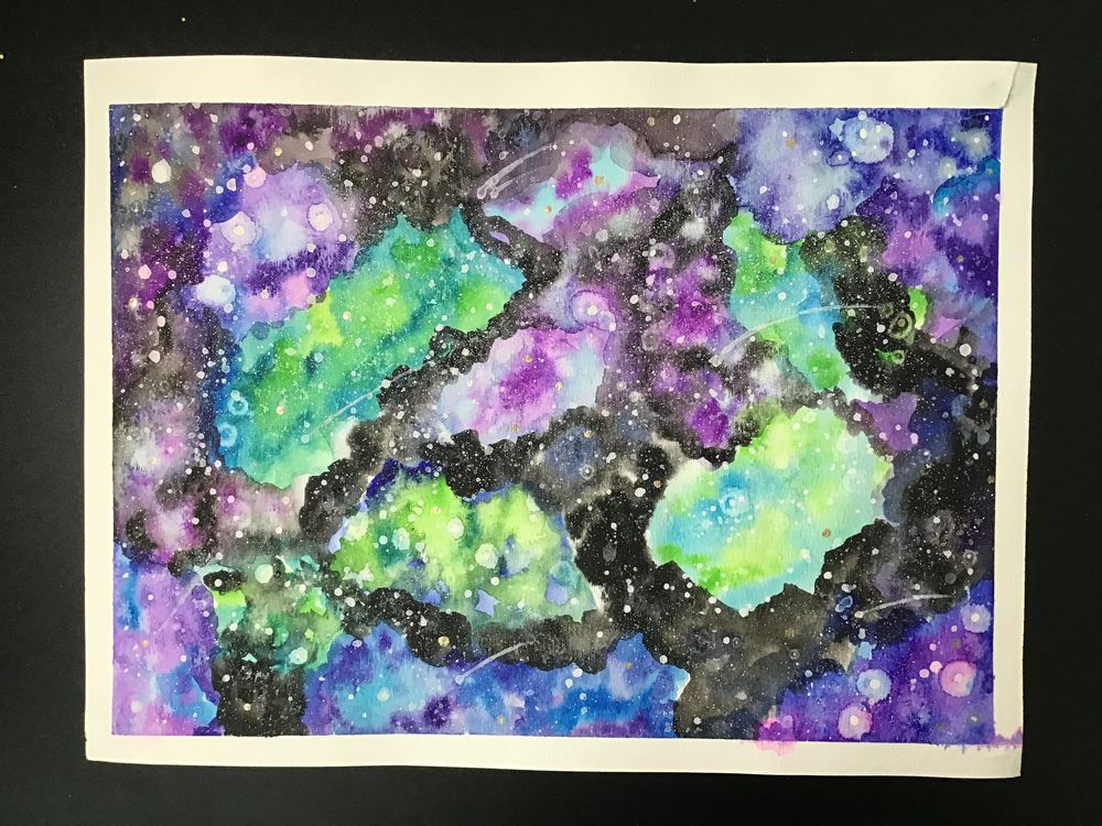 Galaxy - image 1 - student project