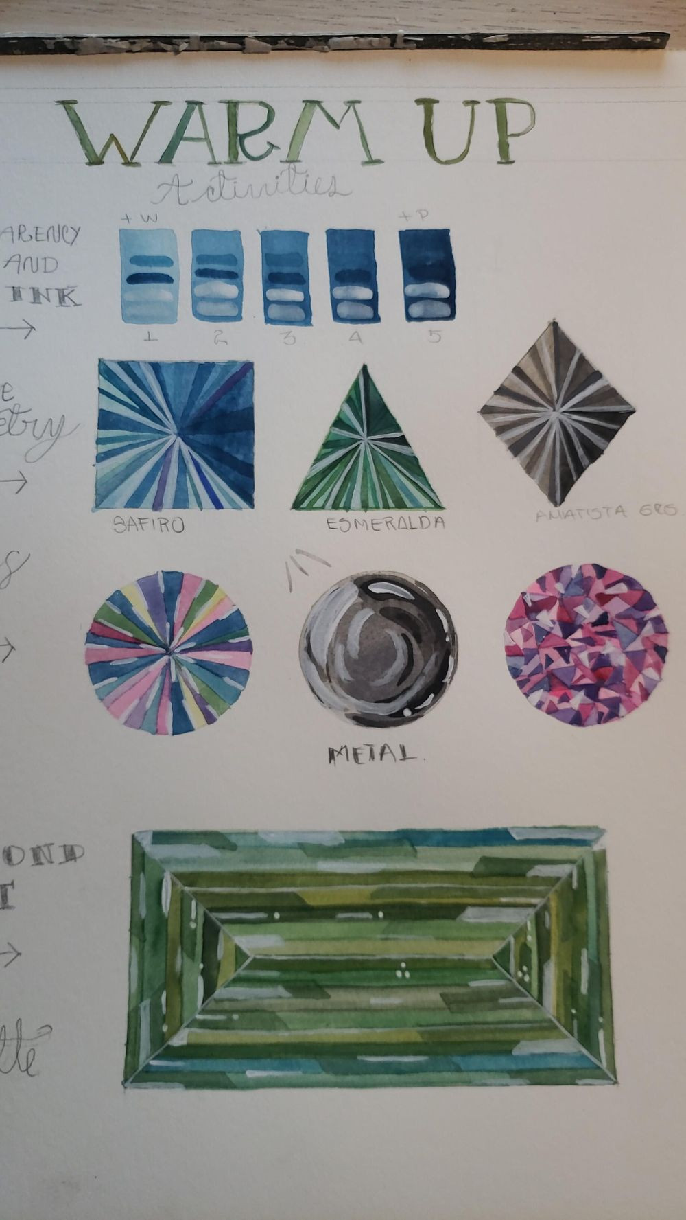 gem stone proyect - image 1 - student project