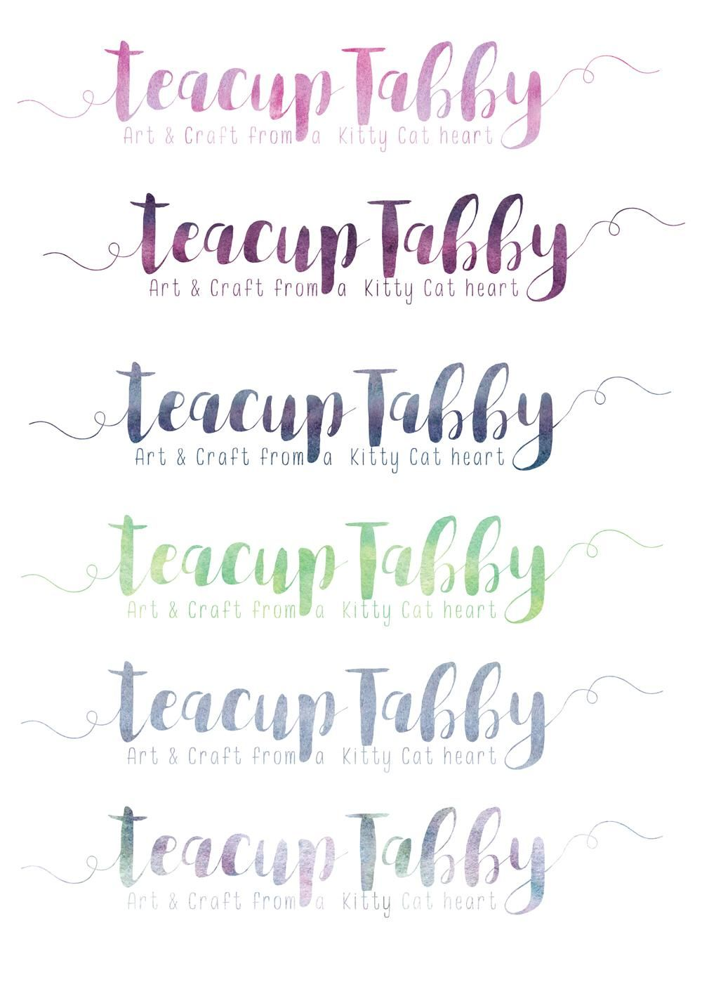 Watercolour Textures for use in branding - image 3 - student project