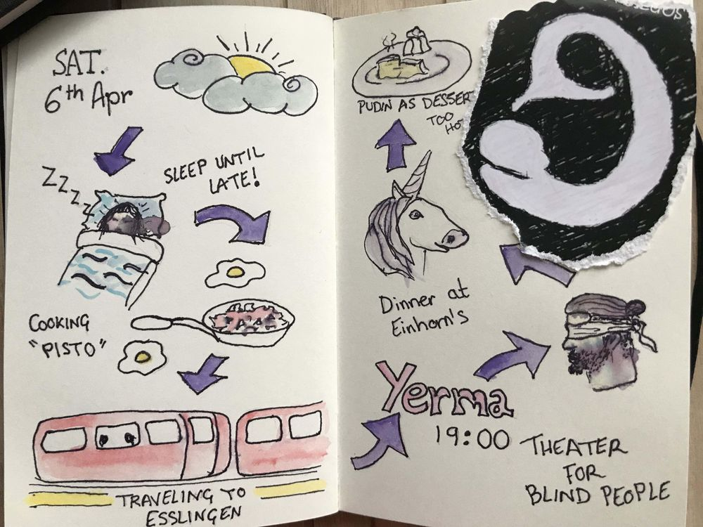 A Journal page - image 1 - student project
