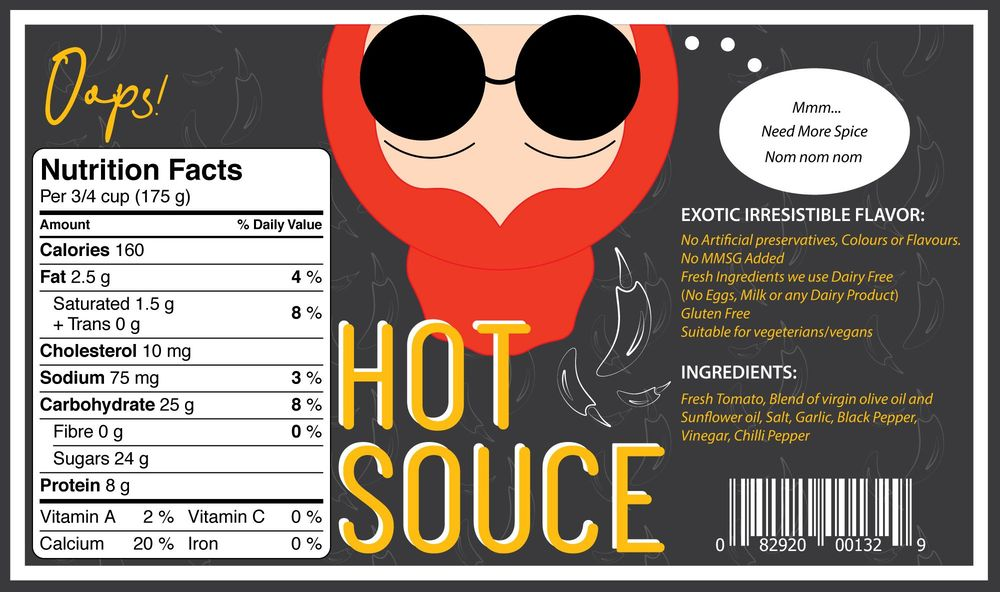 Hot Sauce Can - image 1 - student project