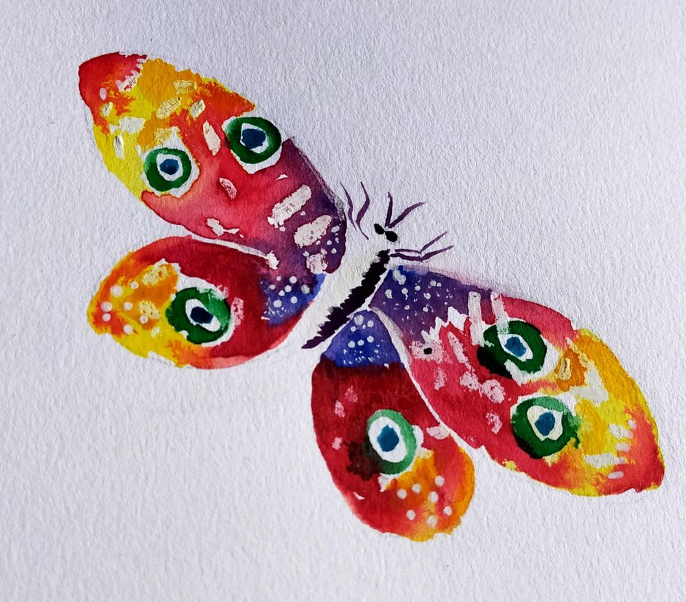 Watercolour special effects - image 2 - student project