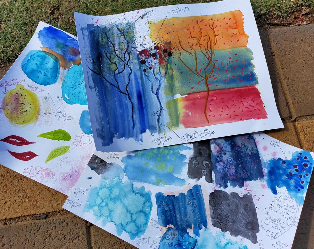 Watercolour special effects - image 3 - student project