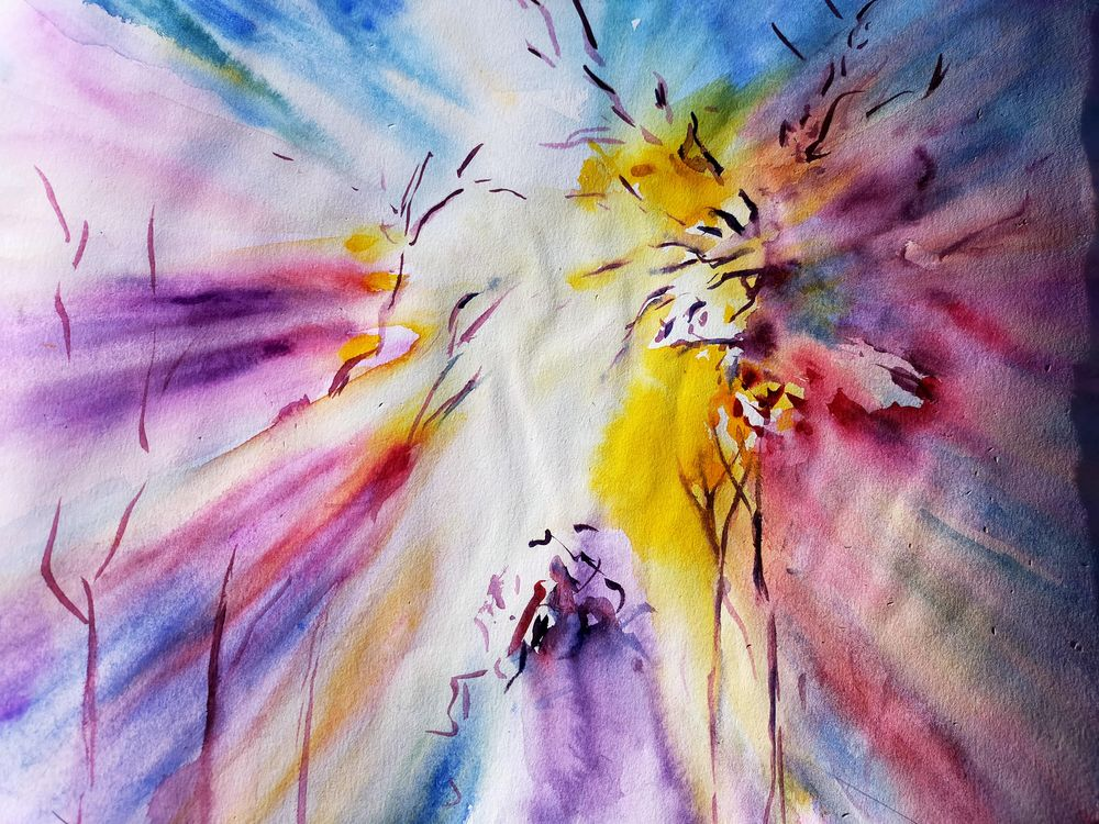 Watercolour special effects - image 1 - student project