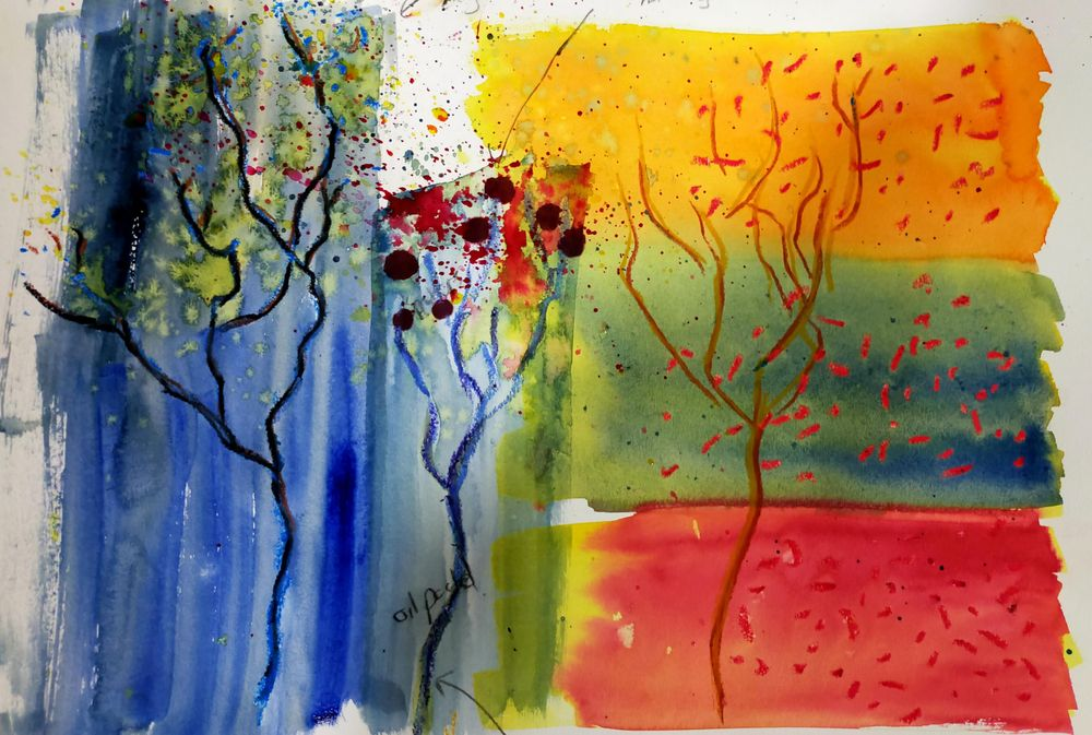 Watercolour special effects - image 4 - student project