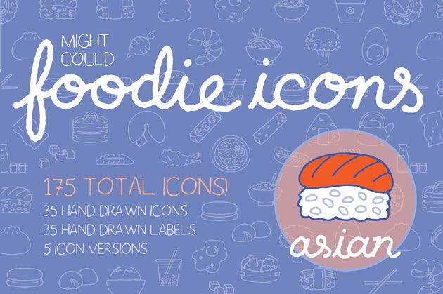 SAMPLE PROJECT: Foodie Vector Illos! - image 4 - student project