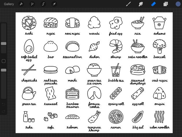 SAMPLE PROJECT: Foodie Vector Illos! - image 2 - student project