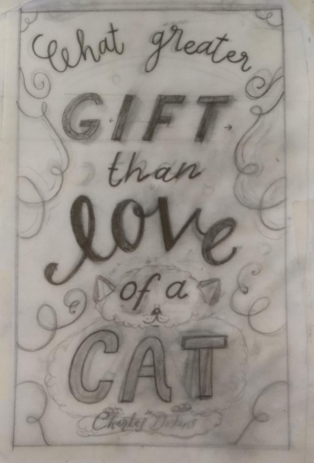 What greater gift than... - image 6 - student project