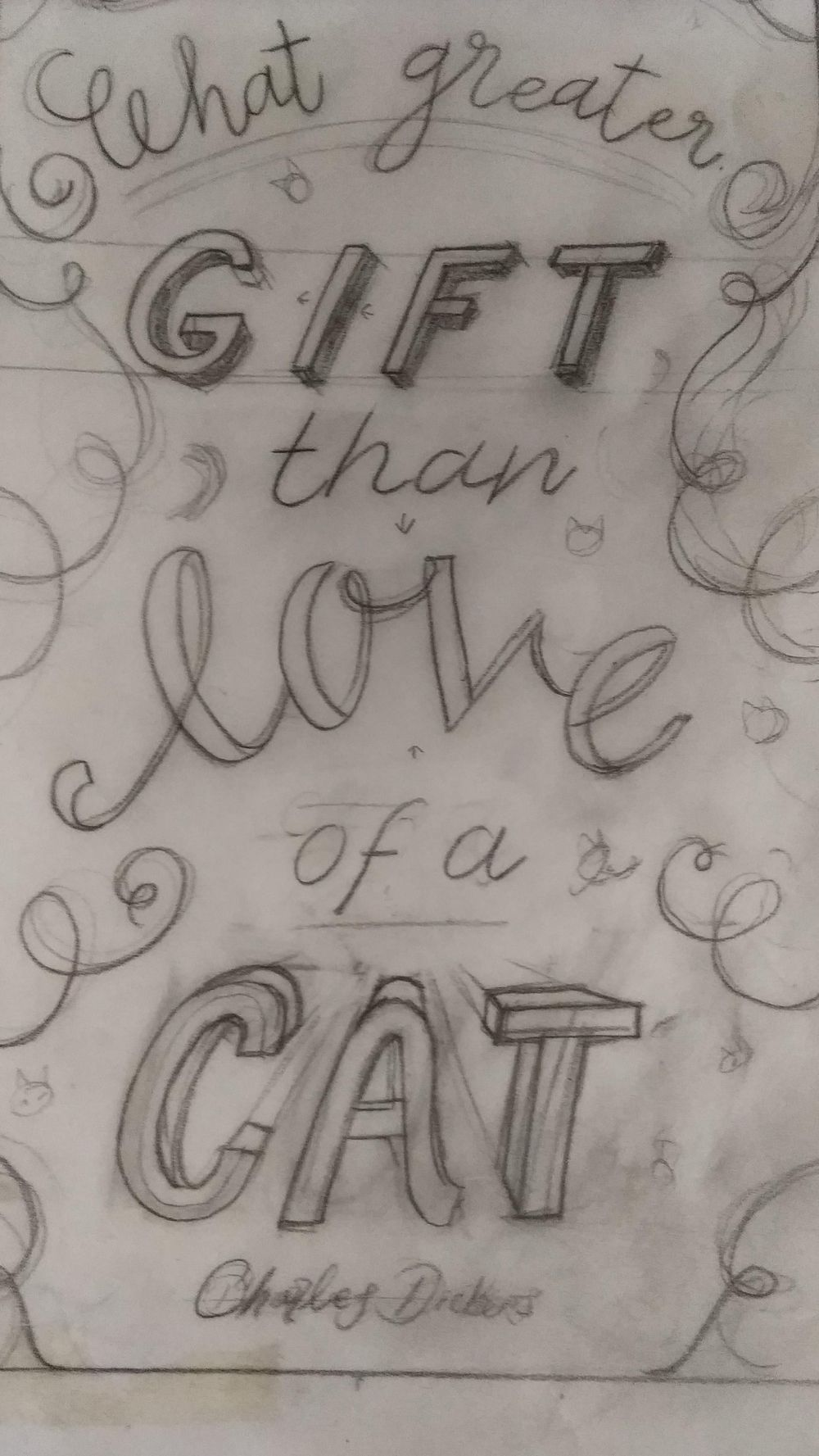 What greater gift than... - image 5 - student project