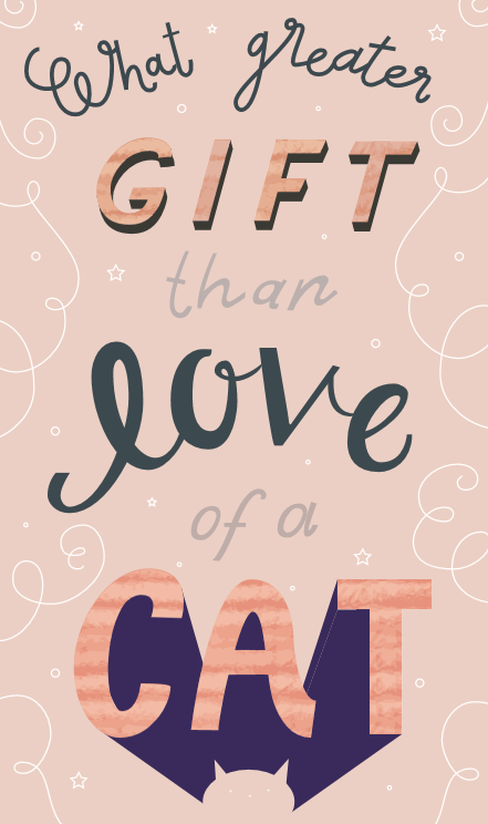 What greater gift than... - image 1 - student project