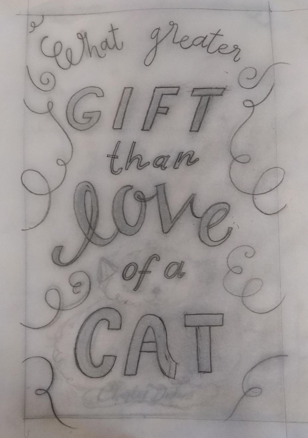 What greater gift than... - image 7 - student project