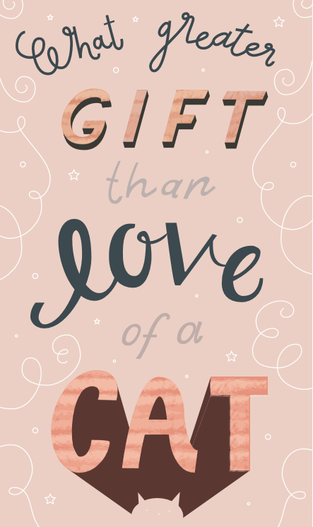 What greater gift than... - image 2 - student project