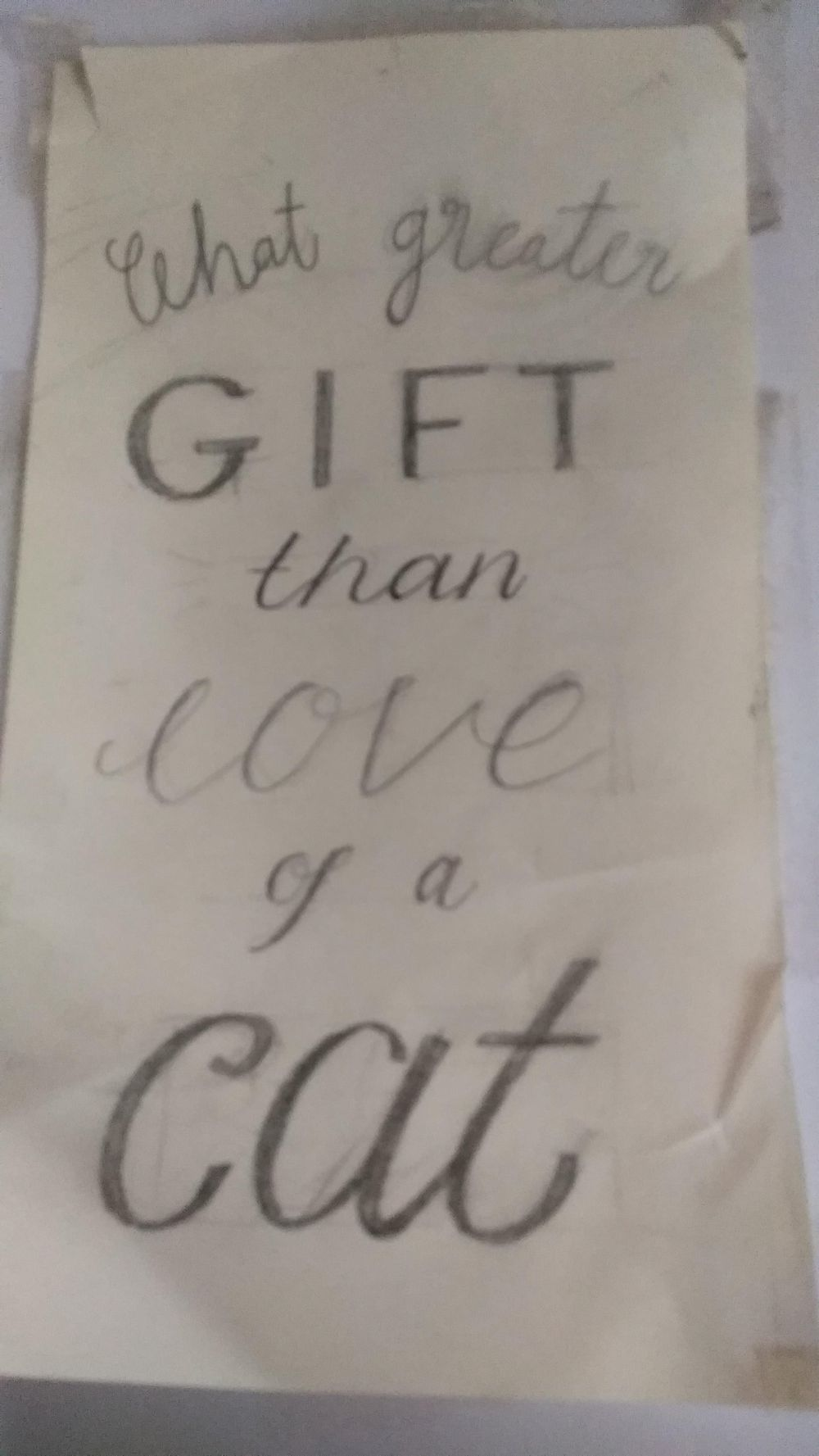 What greater gift than... - image 4 - student project