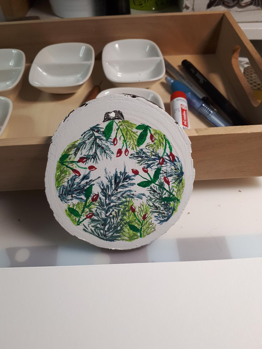 Winter Ornament - image 1 - student project