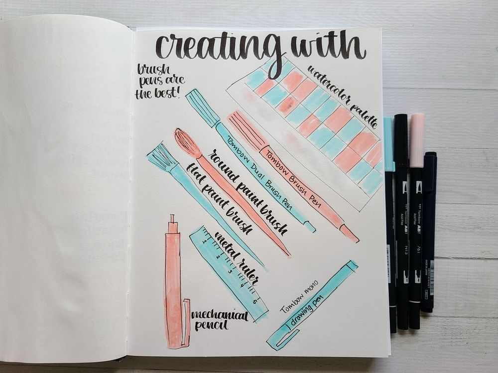Illustrative Journaling-14 days - image 3 - student project